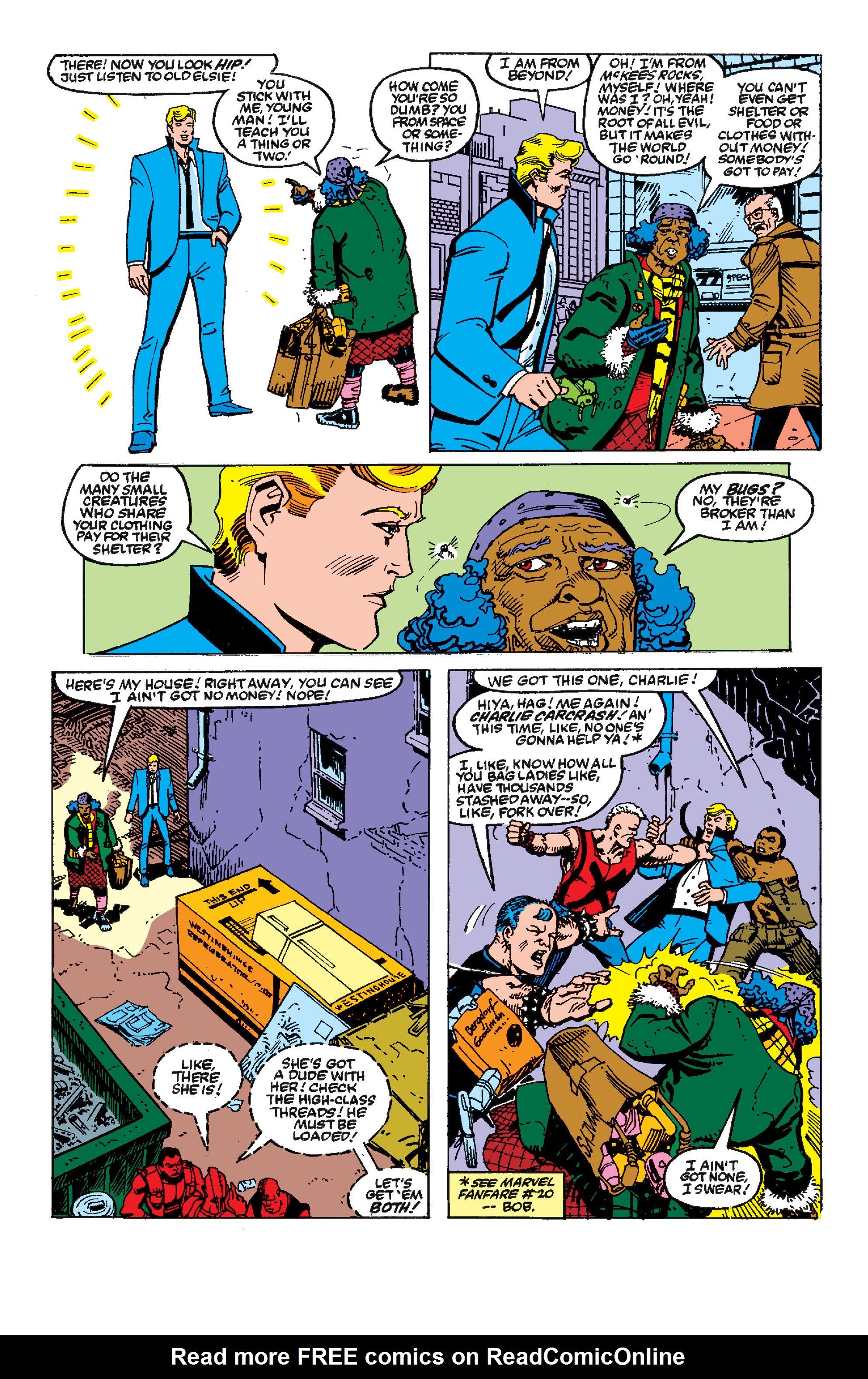 Read online Secret Wars II comic -  Issue #2 - 19