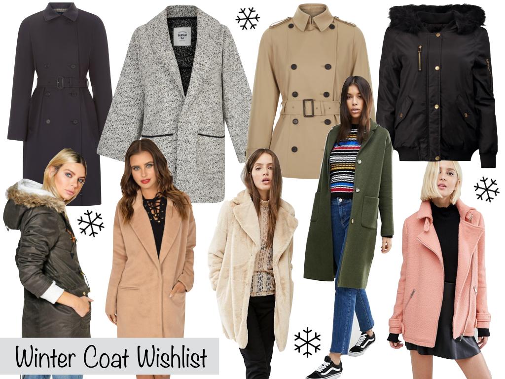 Winter Coat Wishlist