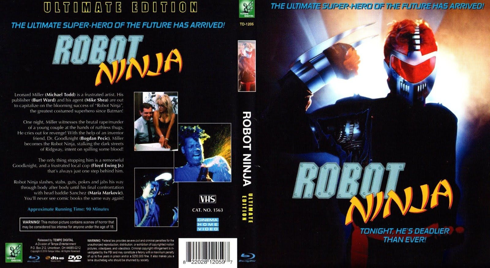 The Big Movie House: Robot Ninja: Ultimate Edition (Tempe Digital
