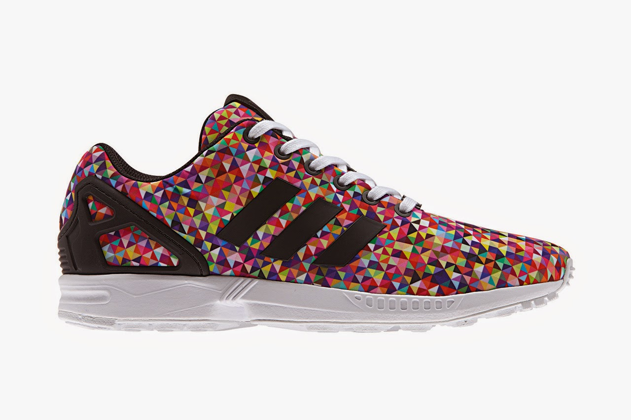 finest selection 15ef8 f1517 The versatility of the ZX Flux can also be seen in the reflective snake print  pack, which manages to incorporate a number of ground-breaking features on  one ...