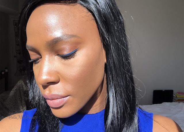 blue eyeliner | bellanoirbeauty.com