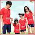 AKC088K137 Kaos Couple Baju Anak 088K137 Keluarga Family BMGShop