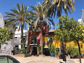 Andalucian värikkäät vuokrahuoneistot