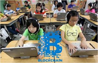 كوريا الجنوبية تسعى لإدراج تكنولوجيا البلوكشاين Blockchain في مناهجها التربوية