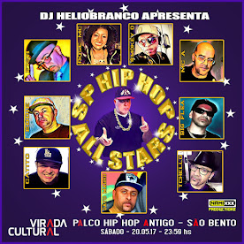 SP HIP HOP ALL STARS ESTARÁ AO VIVO