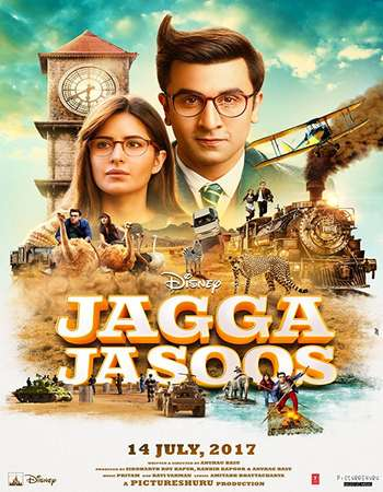 Jagga Jasoos 2017 300MB Full DVDRip Hindi Movie Download 480p