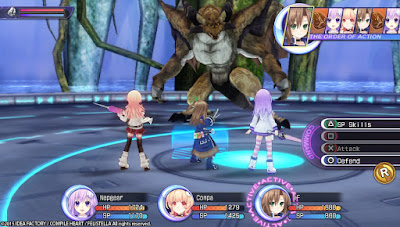 Hyperdimension Neptunia Re;Birth 2 (PC) 2015