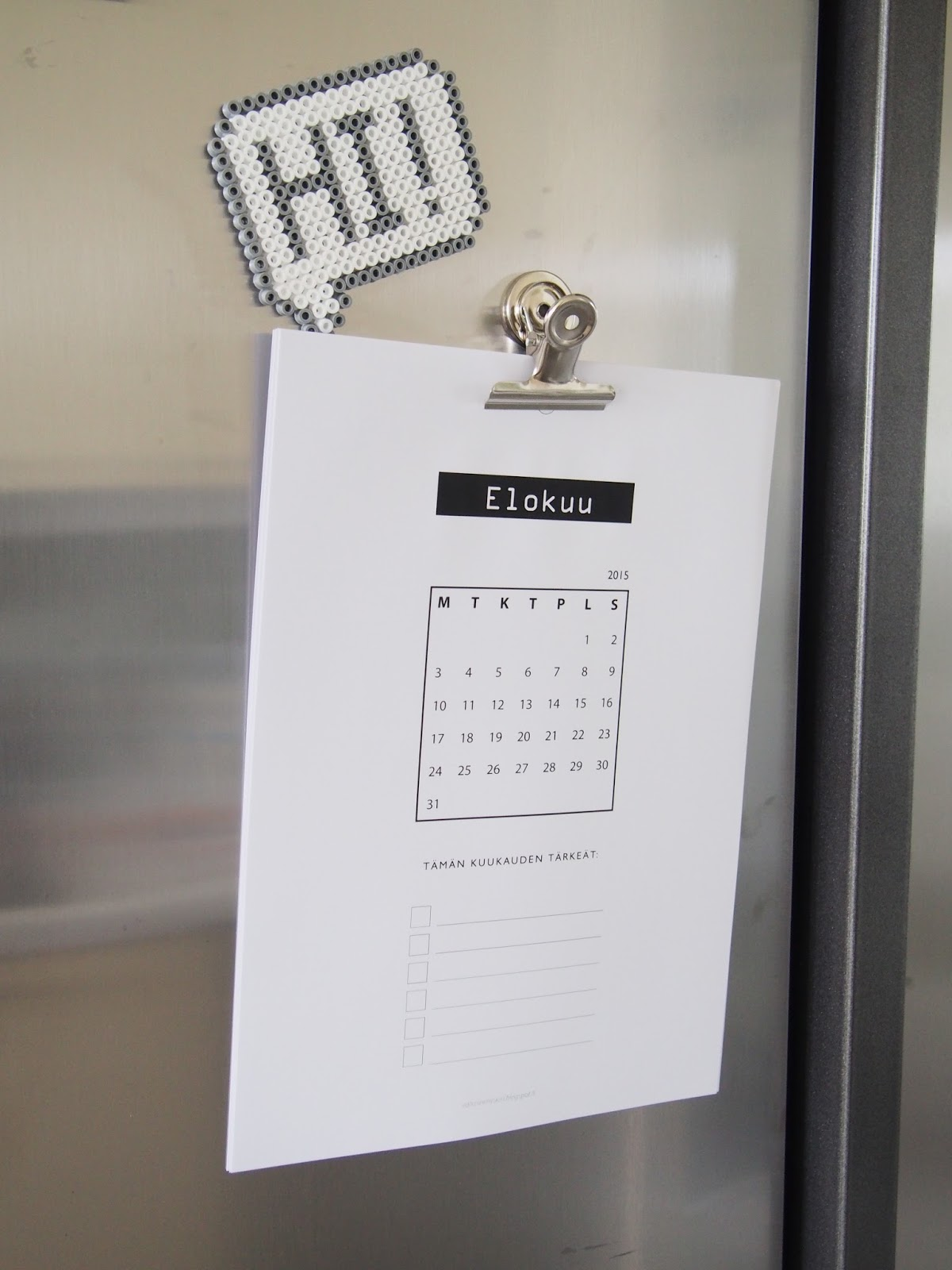 Tulostettava Kalenteri Ilmainen 7