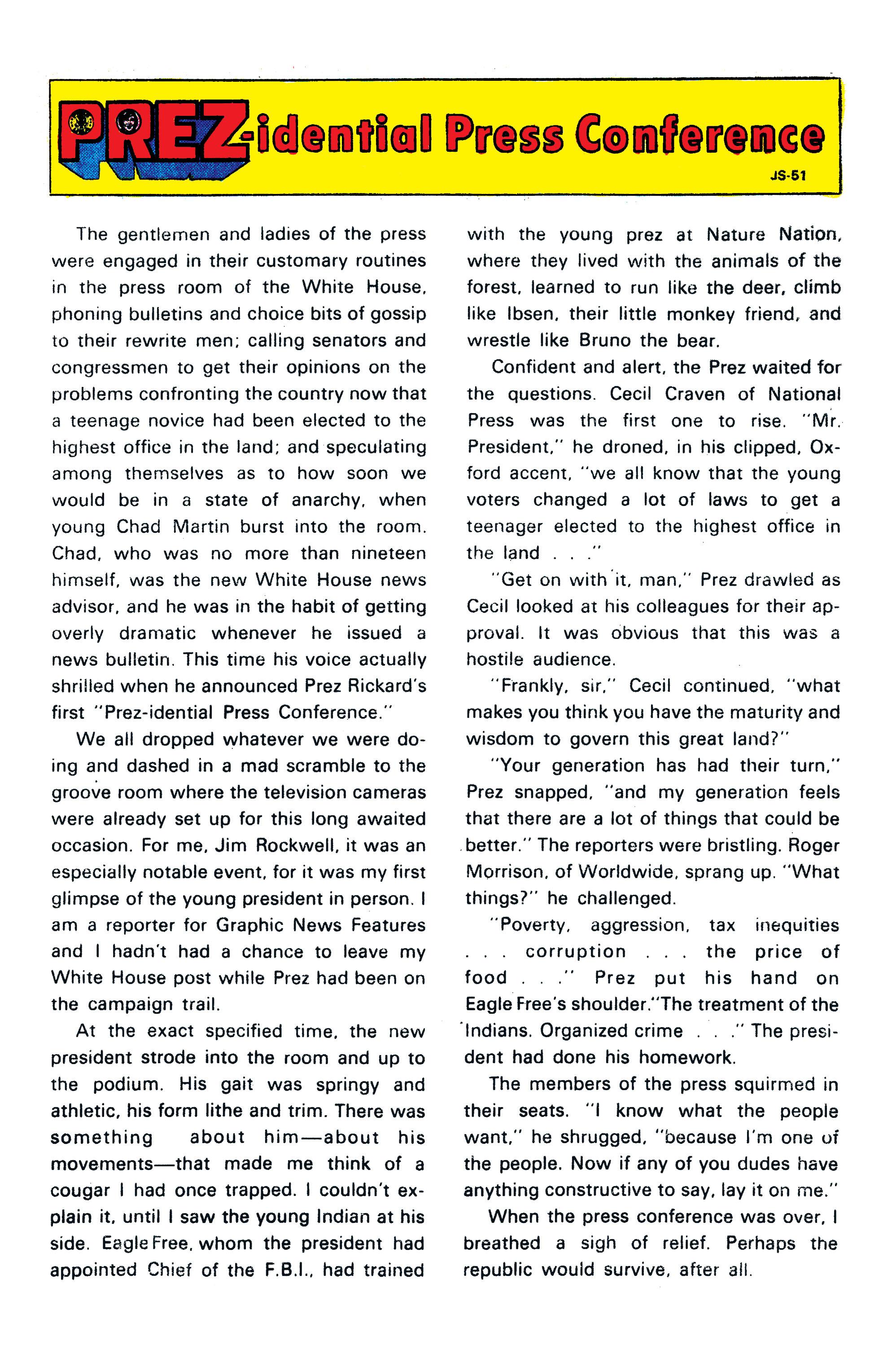 Prez (1973) 3 Page 21