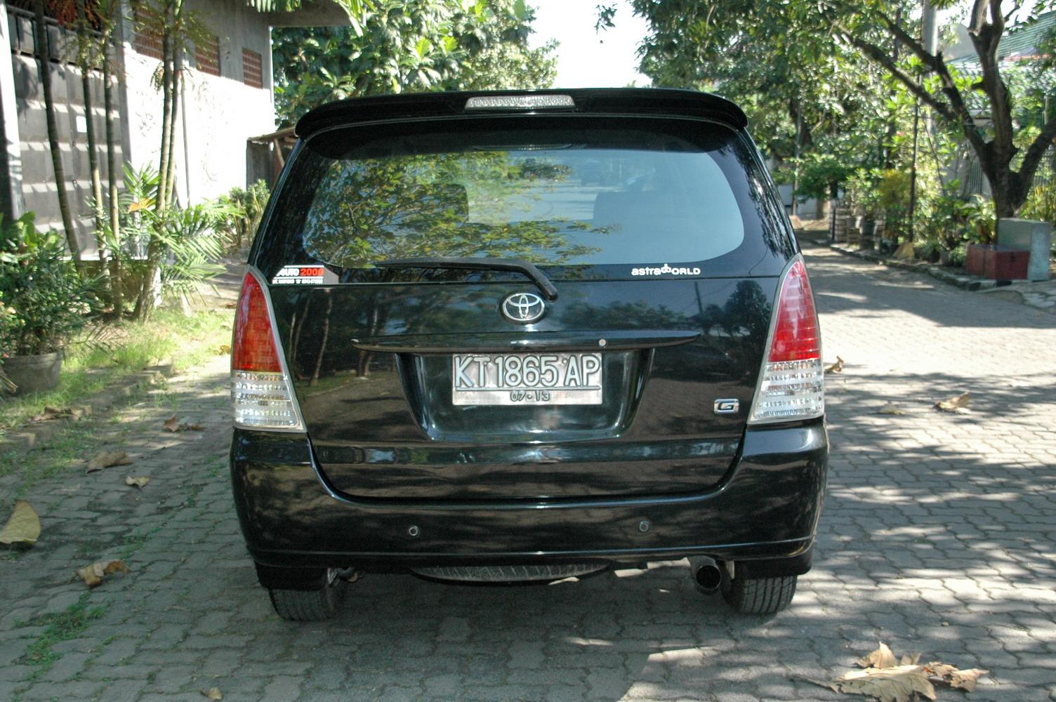 konsumsi bbm all new kijang innova diesel toyota venturer automoda g 2008