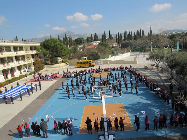 """Αποτέλεσμα εικόνας για """"Επιτέλους κι ένα σχολείο, που δεν φοβάται να μιλήσει ανοιχτά για την Μακεδονία..."""" (vid)"""