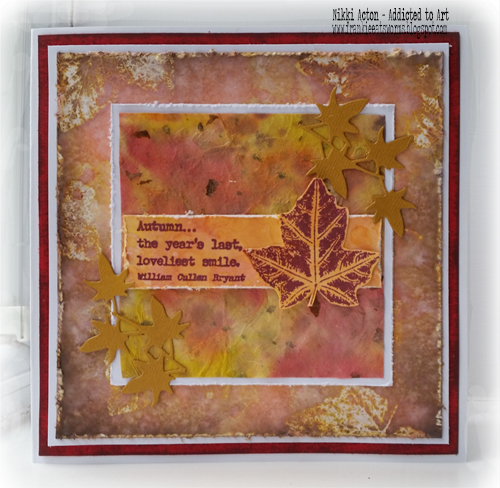 PaperArtsy Eclectica EAB04 Alison Bomber - new stamps - by Nikki Acton