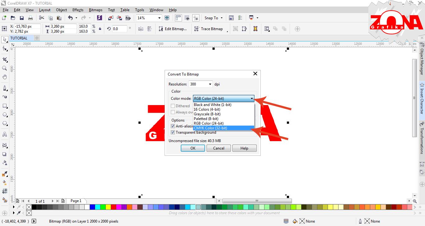 Cara Merubah Gambar Mode Warna RGB Menjadi CMYK dengan ...