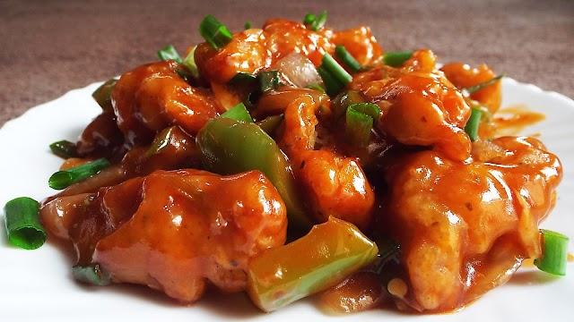 চিলি চিকেন - Chilli Chicken - Home Made Recipes