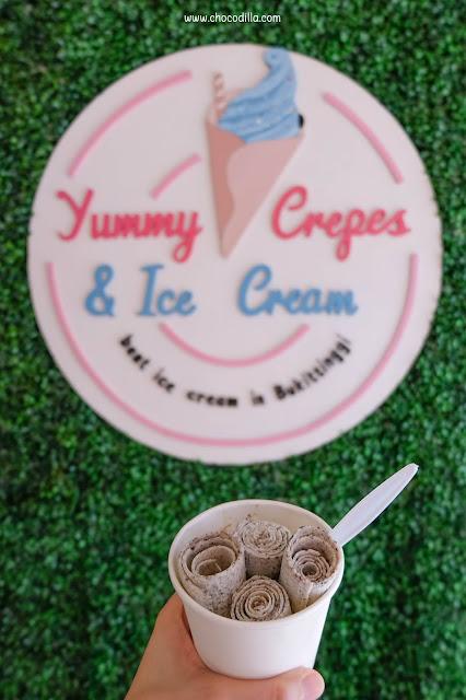 Yummy Crepes & Ice Cream Bukittinggi