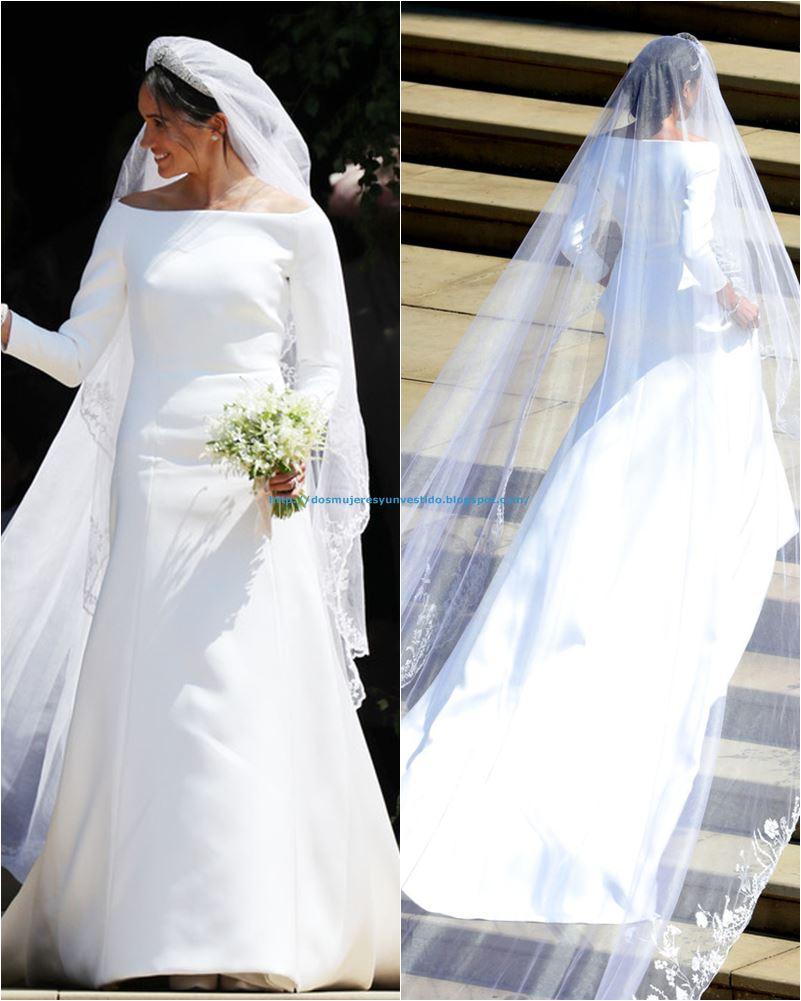 Vestido de la boda real