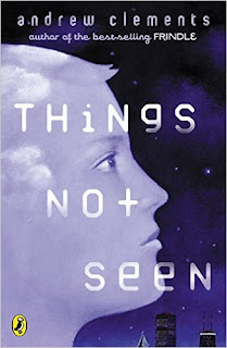 """Tween Book Group Reads """"Things Not Seen"""" for May 11, 2017"""