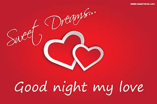 love good night sweet dreams