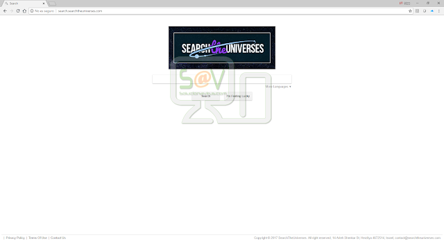 Search.searchtheuniverses.com (Hijacker)