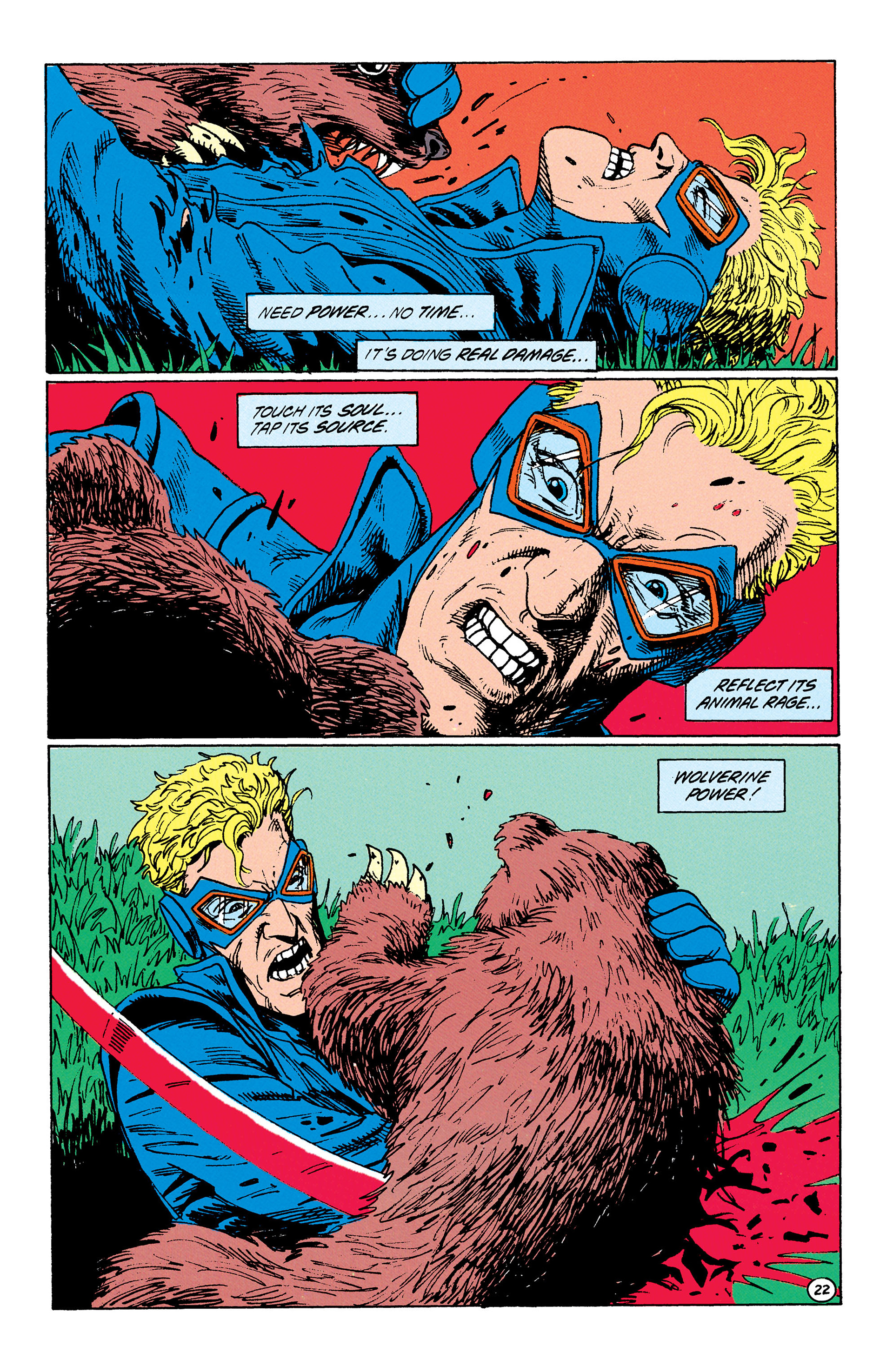 Read online Animal Man (1988) comic -  Issue #33 - 23