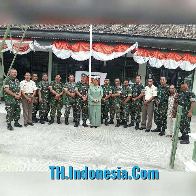 Kunjungan Dandim 0718 Pati Dengan Personel Koramil Wedarijaksa Perkuat Keharmonisan Atasan Dan Bawahan