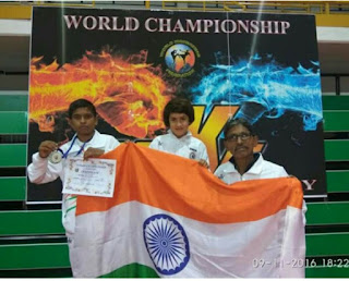 Tajamul won the World KickBoxing Championship