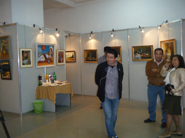 Exposition de peintures à La Galerie Aicha Haddad 11