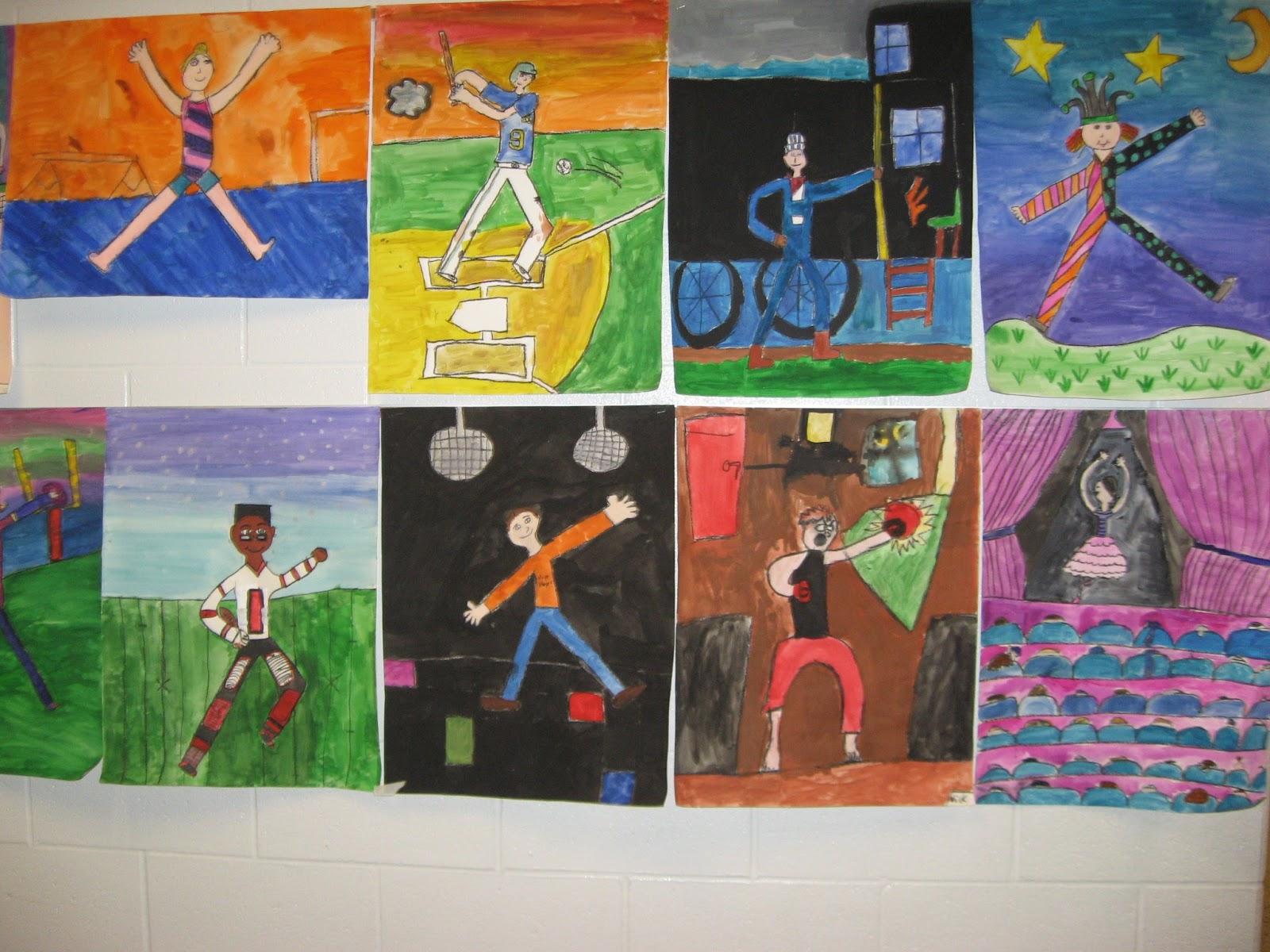 Jamestown Elementary Art Blog 4th Grade Edgar Degas Figure Drawing