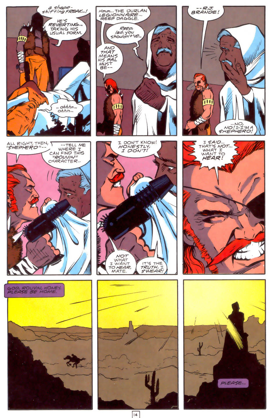 Legion of Super-Heroes (1989) 33 Page 14