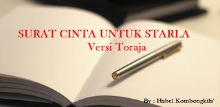 Surat Cinta Untuk Starla Versi Toraja