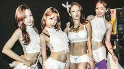 Hadam, Dahee, Eunsol, and Minhee Bambino