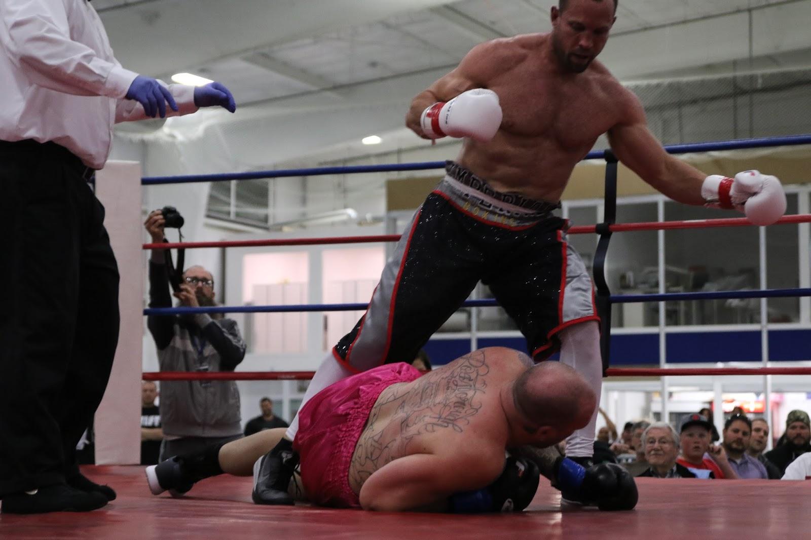 night Pine bluff amateur fight