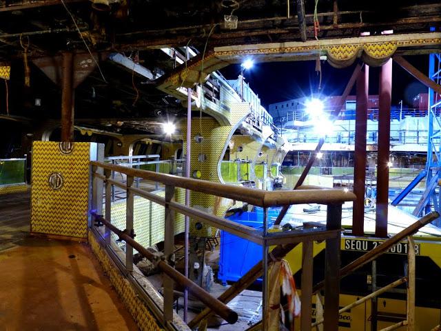 P1180162 - Primeiras imagens do Costa Concordia depois de ser resgatado em 2014