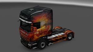 Scania RJL Scania Dragon Skin