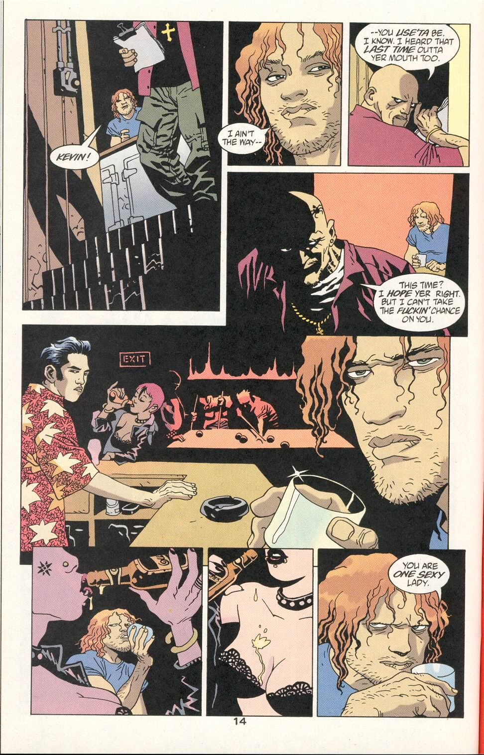 Read online 100 Bullets comic -  Issue #21 - 15