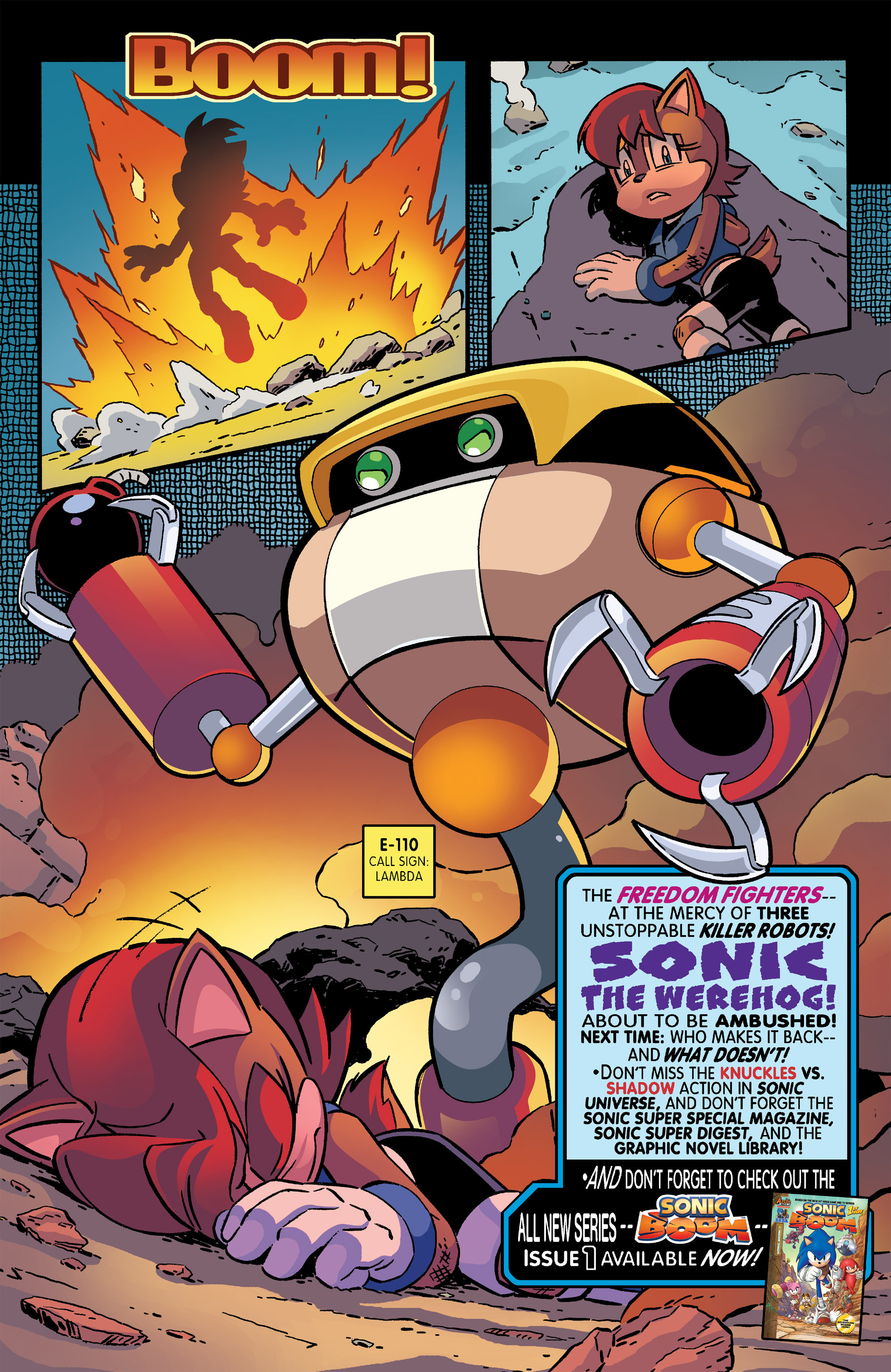Read online Sonic The Hedgehog comic -  Issue #266 - 22