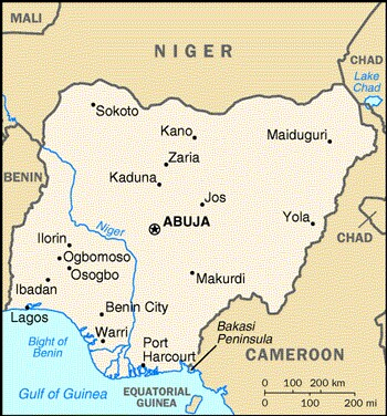 The River Niger Map