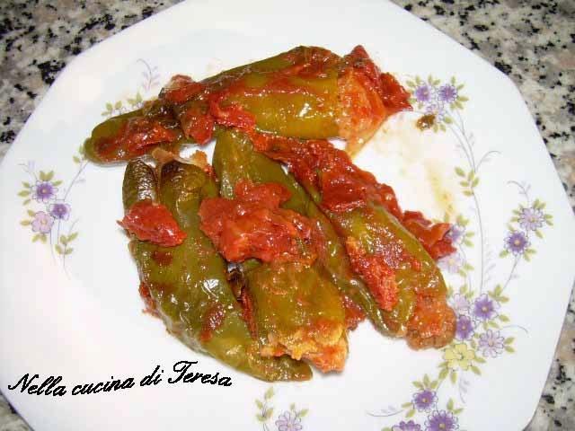 Nella cucina di teresa peperoncini verdi ripieni - Nella cucina di teresa ...