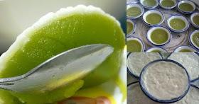 ชวนทำขนมถ้วยตะไลใบเตย ของหวานแบบไทยๆทำง่าย แป้งนิ่มมาก หน้ากะทิแตกมัน