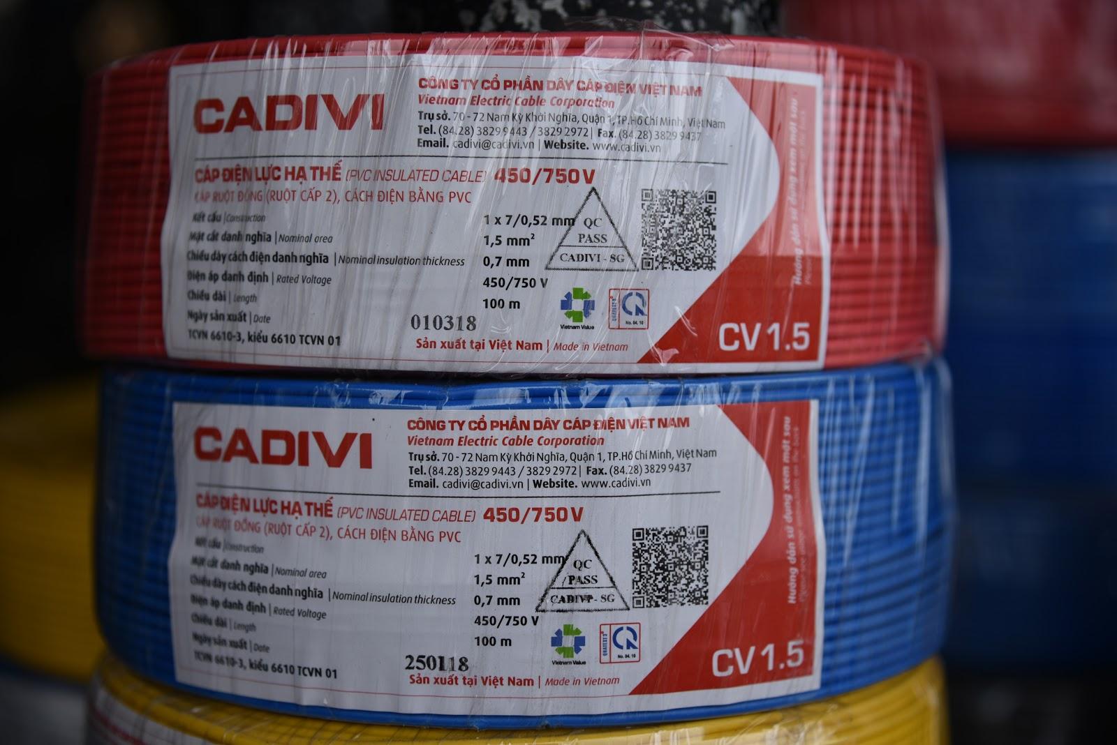 Bán dây điện Cadivi giá rẻ ở đâu ?