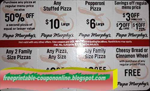 Papa murphys coupons printable