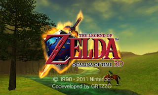 Imagen del título de The Legend of Zelda : Ocarina of Time 3D para Nintendo 3DS