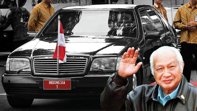 Mercedes W140 Soeharto