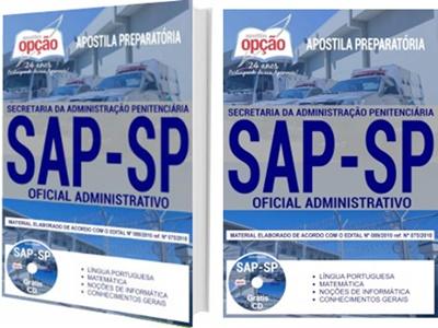 Apostila Concurso SAP SP 2017/2018