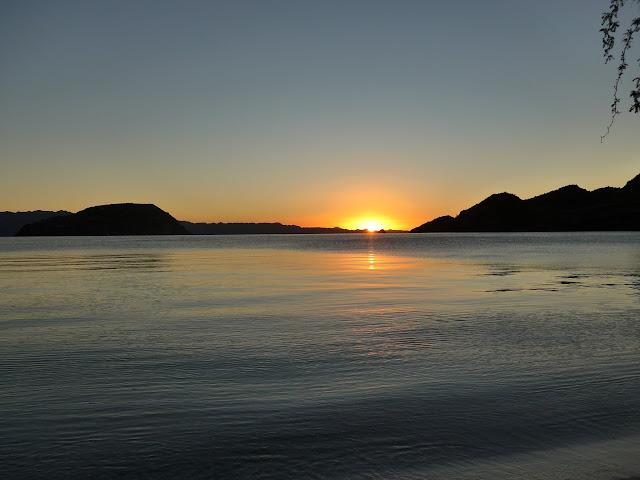 Sunrise on Coyote Beach, BCS. Mexico.