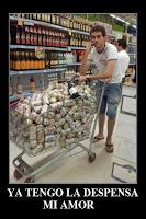 comprando cerveza humor desmotivaciones