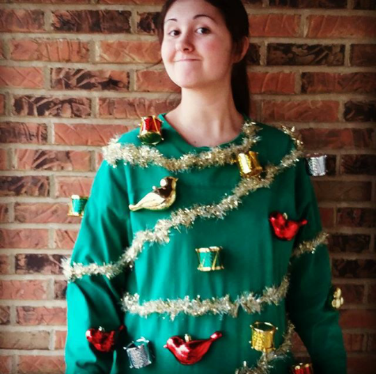 Make your own christmas sweater