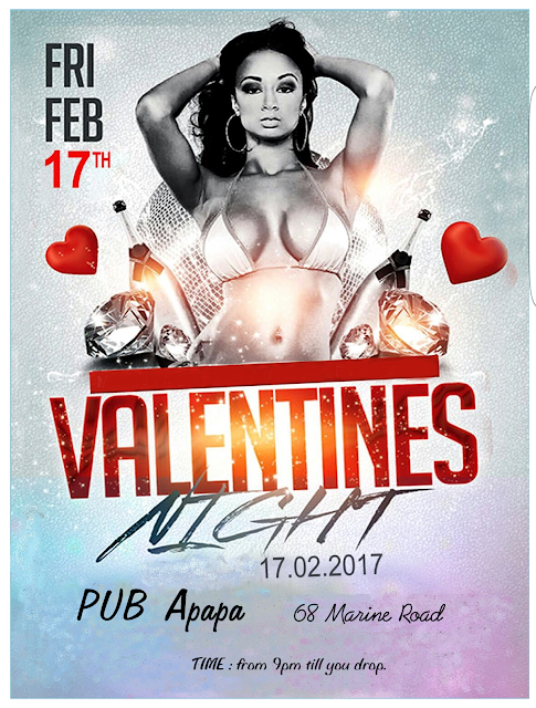 The Pub Valentines Night!..... Feb., 17th