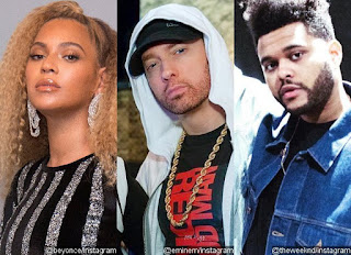 Who are the Headliners In Coachella 2018 - Beyonce,Eminem & The Weeknd