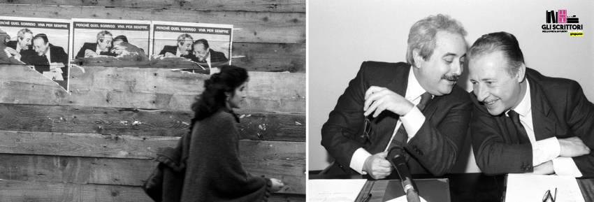 Giovanni Falcone e Paolo Borsellino nel celebre scatto del 27 marzo 1992 | (c) Ph Tony Gentile